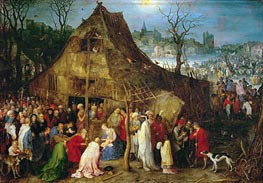 Adoration of the Magi | Jan Bruegel the Elder | Gemälde Reproduktion