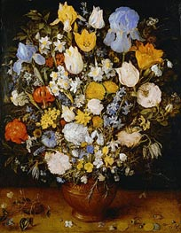 Small Bouquet of Flowers | Jan Bruegel the Elder | Gemälde Reproduktion