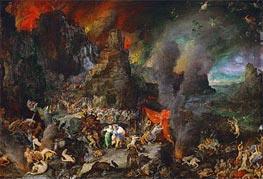 Aeneas and the Sibyl in Hades | Jan Bruegel the Elder | Painting Reproduction