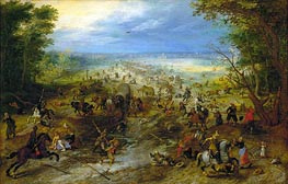 The Ambush | Jan Bruegel the Elder | Gemälde Reproduktion
