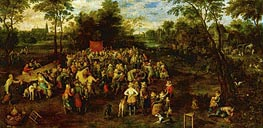 Wedding Banquet | Jan Bruegel the Elder | Gemälde Reproduktion