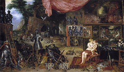 Touch, c.1617 | Jan Bruegel the Elder | Painting Reproduction