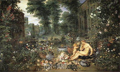 Smell, c.1617 | Jan Bruegel the Elder | Painting Reproduction