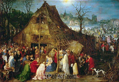 Adoration of the Magi, 1598 | Jan Bruegel the Elder | Gemälde Reproduktion