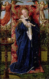 Madonna at the Fountain, 1439 by Jan van Eyck | Painting Reproduction