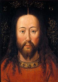 Christ, Undated by Jan van Eyck | Painting Reproduction