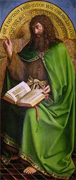 John the Baptist (The Ghent Altarpiece) | Jan van Eyck | Gemälde Reproduktion