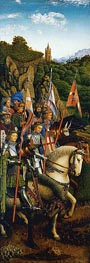 The Knights of Christ (The Ghent Altarpiece), 1432 von Jan van Eyck | Gemälde-Reproduktion