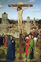 The Crucifixion, Undated von Jan van Eyck | Gemälde-Reproduktion