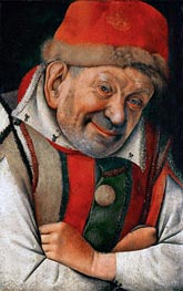 Gonella (The Court Dwarf of the Dukes of Ferrara) | Jan van Eyck | Gemälde Reproduktion