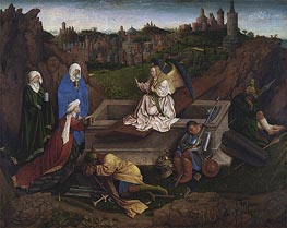 The Three Marys at the Tomb | Jan van Eyck | Gemälde Reproduktion
