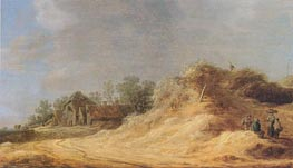 Dunes, 1629 by Jan van Goyen | Painting Reproduction