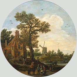 Summer, 1625 by Jan van Goyen | Painting Reproduction