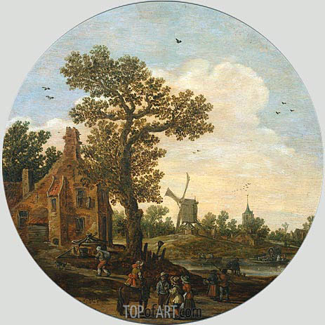 Summer, 1625 | Jan van Goyen | Gemälde Reproduktion