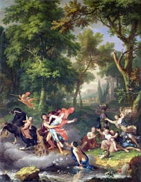 The Rape of Proserpine, undated by Jan van Huysum | Painting Reproduction