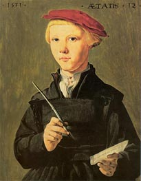 The Schoolboy, 1531 by Jan van Scorel | Painting Reproduction
