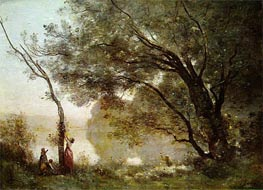 Souvenir of Mortefontaine | Corot | Painting Reproduction