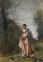 Springtime of Life, 1871 by Corot | Painting Reproduction