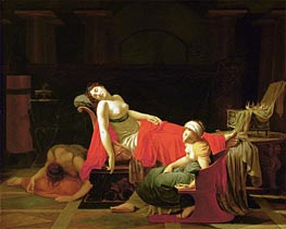 Death of Cleopatra, c.1796/97 by Baron Jean Baptiste Regnault | Painting Reproduction
