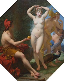 The Judgment of Paris, c.1812 by Baron Jean Baptiste Regnault | Painting Reproduction