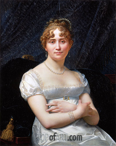 Portrait of Helene Viollet, undated | Baron Jean Baptiste Regnault | Painting Reproduction