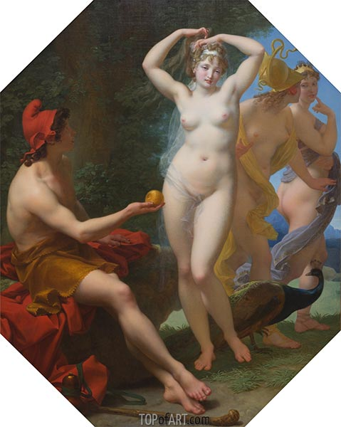 The Judgment of Paris, c.1812 | Baron Jean Baptiste Regnault | Painting Reproduction