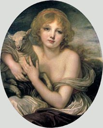 Innocence, c.1790 by Jean-Baptiste Greuze | Painting Reproduction