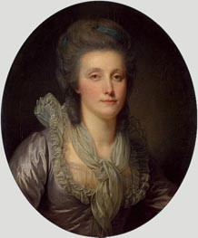 Portrait of Countess Ekaterina Shuvalova | Jean-Baptiste Greuze | Painting Reproduction
