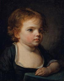 Portrait of a Child | Jean-Baptiste Greuze | Painting Reproduction