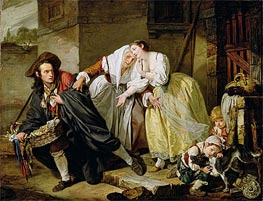 Le Geste Napolitain | Jean-Baptiste Greuze | Painting Reproduction
