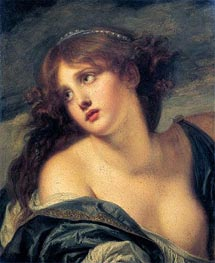 Psyche | Jean-Baptiste Greuze | Painting Reproduction