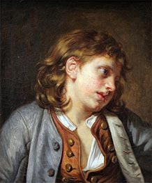 A Young Peasant Boy | Jean-Baptiste Greuze | Painting Reproduction