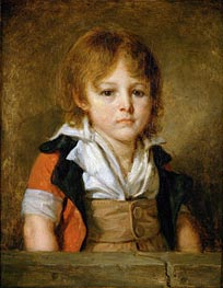 Portrait of Edouard Bertin | Jean-Baptiste Greuze | Painting Reproduction