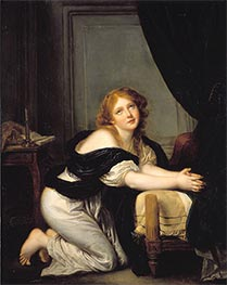 Morning Prayer, Undated by Jean-Baptiste Greuze | Painting Reproduction