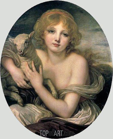 Innocence, c.1790 | Jean-Baptiste Greuze | Painting Reproduction