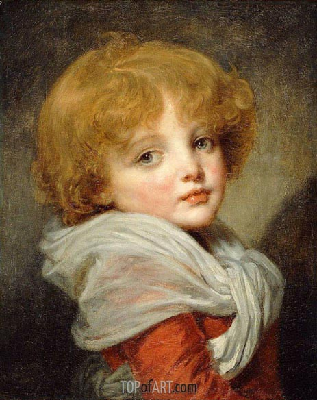 Young Boy, undated | Jean-Baptiste Greuze | Painting Reproduction