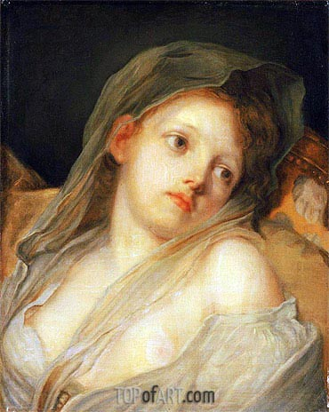 Innocence, undated | Jean-Baptiste Greuze | Painting Reproduction