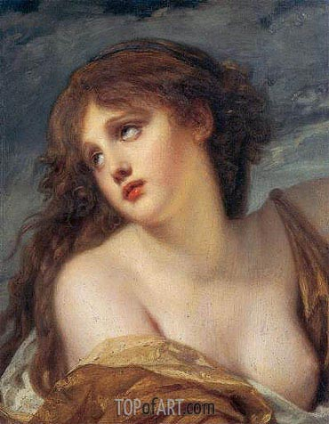 Psyche, c.1786 | Jean-Baptiste Greuze | Painting Reproduction