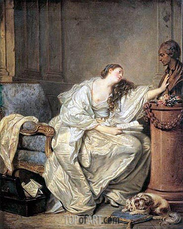 The Inconsolable Widow, c.1762/63   Jean-Baptiste Greuze   Painting Reproduction