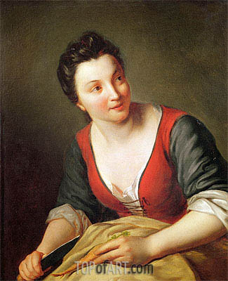 The Cook, Undated | Jean-Baptiste Santerre | Painting Reproduction