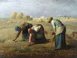 The Gleaners, 1857 by Millet | Painting Reproduction