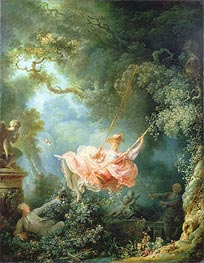 The Swing, 1767 von Fragonard | Gemälde-Reproduktion