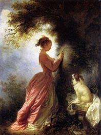 The Souvenir | Fragonard | Painting Reproduction
