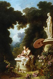 Love Letters | Fragonard | Painting Reproduction