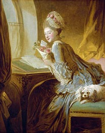 The Love Letter, c.1770 by Fragonard | Painting Reproduction