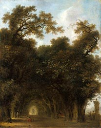 A Shaded Avenue, c.1773 von Fragonard | Gemälde-Reproduktion