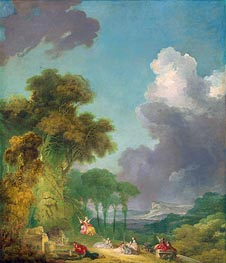 The Swing, c.1765 von Fragonard | Gemälde-Reproduktion