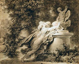 Invocation to Love | Fragonard | Painting Reproduction