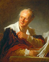 Denis Diderot | Fragonard | Painting Reproduction