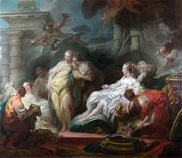 Psyche showing her Sisters her Gifts from Cupid | Fragonard | Painting Reproduction
